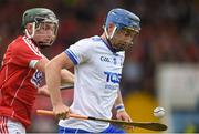 17 June 2018; Colin Dunford of Waterford in action against Philip Mahony of Cork during the Munster GAA Hurling Senior Championship Round 5 match between Waterford and Cork at Semple Stadium in Thurles, Tipperary. Photo by Matt Browne/Sportsfile