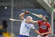 17 June 2018; Tommy Ryan of Waterford in action against Damien Cahalane of Cork during the Munster GAA Hurling Senior Championship Round 5 match between Waterford and Cork at Semple Stadium in Thurles, Tipperary. Photo by Matt Browne/Sportsfile