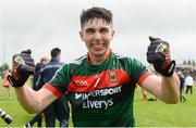17 June 2018; Cathal Horan of Mayo celebrates after the EirGrid Connacht GAA Football U20 Championship Final match between Mayo and Roscommon at Dr Hyde Park in Roscommon. Photo by Piaras Ó Mídheach/Sportsfile