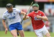 17 June 2018; Seamus Harnedy of Cork in action against Kevin Moran of Waterford during the Munster GAA Hurling Senior Championship Round 5 match between Waterford and Cork at Semple Stadium in Thurles, Tipperary. Photo by Matt Browne/Sportsfile