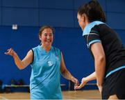 17 June 2018; Michelle Stynes of Eastern Female 1 in the Ladies Basketball Final match between Eastern Female 1 and Leinster Female 1 during the Special Olympics 2018 Ireland Games at the FAI National Training Centre in Abbotstown, Dublin. Photo by Tom Beary/Sportsfile