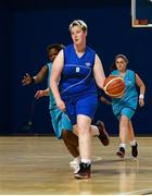 17 June 2018; Marian Flood of Leinster Female Team 1 in action during the Ladies Basketball Final match between Eastern Female 1 and Leinster Female 1 during the Special Olympics 2018 Ireland Games at the FAI National Training Centre in Abbotstown, Dublin. Photo by Tom Beary/Sportsfile
