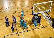 17 June 2018; Emma Johnstone of Eastern Female Team 1 shoots for a basket in the Ladies Basketball Final match between Eastern Female 1 and Leinster Female 1 during the Special Olympics 2018 Ireland Games at the FAI National Training Centre in Abbotstown, Dublin. Photo by Tom Beary/Sportsfile