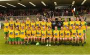 17 June 2018; The Donegal panel ahead of the TG4 Ulster Ladies Football Senior Championship Final match between Armagh and Donegal at Brewster Park in Enniskillen, Co. Fermanagh. Photo by Daire Brennan/Sportsfile
