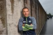 18 June 2018; Niall Donoher poses for a portrait following the Laois Senior Football Leinster Final media night at the Laois GAA County Board Offices in Parkside, Portlaoise. Photo by David Fitzgerald/Sportsfile