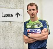 18 June 2018; Laois manager John Sugrue poses for a portrait following the Laois Senior Football Leinster Final media night at the Laois GAA County Board Offices in Parkside, Portlaoise. Photo by David Fitzgerald/Sportsfile