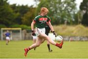 17 June 2018; Niamh O'Malley of Mayo in action during the All-Ireland Ladies Football U14 B Final between Mayo and Tipperary at Duggan Park in Ballinasloe, Co. Galway. Photo by Harry Murphy/Sportsfile
