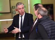 18 June 2018; John Delaney, CEO, Football Association of Ireland, in attendance at the official opening of Shamrock Rovers state of the art 11-a-side and 7-a-side grass pitches and facilities at Roadstone Group Sports Club, Kingswood, Dublin. Photo by Stephen McCarthy/Sportsfile