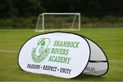 18 June 2018; Views of the Roadstone Group Sports Club prior to the official opening of Shamrock Rovers state of the art 11-a-side and 7-a-side grass pitches and facilities at Roadstone Group Sports Club, Kingswood, Dublin. Photo by Stephen McCarthy/Sportsfile