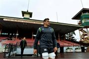 18 June 2018; CJ Stander arrives for Ireland rugby squad training at North Sydney Oval in Sydney, Australia. Photo by Brendan Moran/Sportsfile