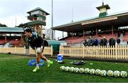 18 June 2018; Joey Carbery arrives for Ireland rugby squad training at North Sydney Oval in Sydney, Australia. Photo by Brendan Moran/Sportsfile