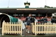 18 June 2018; John Cooney arrives for Ireland rugby squad training at North Sydney Oval in Sydney, Australia. Photo by Brendan Moran/Sportsfile