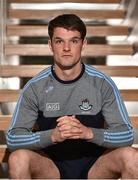 19 June 2018; Eric Lowndes poses for a portrait following a Dublin Football press conference at the Gibson Hotel in Dublin. Photo by Sam Barnes/Sportsfile