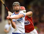 17 June 2018; Pauric Mahony of Waterford in action against Bill Cooper of Cork during the Munster GAA Hurling Senior Championship Round 5 match between Waterford and Cork at Semple Stadium in Thurles, Tipperary. Photo by Matt Browne/Sportsfile