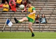 10 June 2018; Jamie Brennan of Donegal during the Ulster GAA Football Senior Championship Semi-Final match between Donegal and Down at St Tiernach's Park in Clones, Monaghan. Photo by Oliver McVeigh/Sportsfile