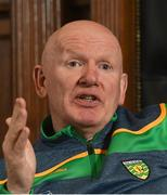 19 June 2018; Donegal manager Declan Bonner during a Donegal GAA Football press conference at Donegal Council offices in Lifford, Donegal. Photo by Oliver McVeigh/Sportsfile