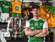 19 June 2018; Tomas Corrigan of Fermanagh during an Ulster GAA Senior Football Championship Final press conference at O'Neill's Sports Store in Strabane, Co. Tyrone. Photo by Oliver McVeigh/Sportsfile