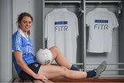 20 June 2018; The Ladies Gaelic Football Association and Orreco have announced a groundbreaking technology partnership which will see LGFA promote a new app for women, created by the world-leading Irish sports data, biomarker and performance experts. FitrWoman provides personalised day-to-day evidence based training and nutrition suggestions tailored to the changing hormones in a woman's menstrual cycle. Pictured at the launch is Noëlle Healy of Dublin at Croke Park in Dublin. Photo by Piaras Ó Mídheach/Sportsfile