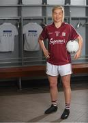 20 June 2018; The Ladies Gaelic Football Association and Orreco have announced a groundbreaking technology partnership which will see LGFA promote a new app for women, created by the world-leading Irish sports data, biomarker and performance experts. FitrWoman provides personalised day-to-day evidence based training and nutrition suggestions tailored to the changing hormones in a woman's menstrual cycle. Pictured at the launch is Tracey Leonard of Galway at Croke Park in Dublin. Photo by Piaras Ó Mídheach/Sportsfile