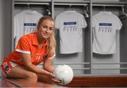 20 June 2018; The Ladies Gaelic Football Association and Orreco have announced a groundbreaking technology partnership which will see LGFA promote a new app for women, created by the world-leading Irish sports data, biomarker and performance experts. FitrWoman provides personalised day-to-day evidence based training and nutrition suggestions tailored to the changing hormones in a woman's menstrual cycle. Pictured at the launch is Marian McGuinness of Armagh at Croke Park in Dublin. Photo by Piaras Ó Mídheach/Sportsfile