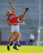 20 June 2018; Billy Hennessy of Cork in action against Darragh Lyons of Waterford during the Bord Gais Energy Munster Under 21 Hurling Championship Semi-Final match between Cork and Waterford at Pairc Ui Chaoimh in Cork. Photo by Eóin Noonan/Sportsfile