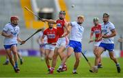 20 June 2018; Mark Coleman of Cork in action against Peter Hogan of Waterford during the Bord Gais Energy Munster Under 21 Hurling Championship Semi-Final match between Cork and Waterford at Pairc Ui Chaoimh in Cork. Photo by Eóin Noonan/Sportsfile