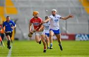 20 June 2018; Billy Hennessy of Cork in action against Neil Montgomery of Waterford during the Bord Gais Energy Munster Under 21 Hurling Championship Semi-Final match between Cork and Waterford at Pairc Ui Chaoimh in Cork. Photo by Eóin Noonan/Sportsfile