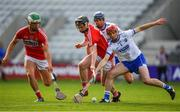 20 June 2018; Darragh Lynch of Waterford in action against Jack O'Connor of Cork during the Bord Gais Energy Munster Under 21 Hurling Championship Semi-Final match between Cork and Waterford at Pairc Ui Chaoimh in Cork. Photo by Eóin Noonan/Sportsfile