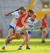 20 June 2018; Darragh Fitzgibbon of Cork in action against Conor Prunty of Waterford during the Bord Gais Energy Munster Under 21 Hurling Championship Semi-Final match between Cork and Waterford at Pairc Ui Chaoimh in Cork. Photo by Eóin Noonan/Sportsfile