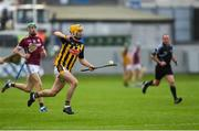 20 June 2018; Richie Leahy of Kilkenny in action during the Bord Gáis Energy Leinster GAA Hurling U21 Championship Semi-Final match between Kilkenny and Galway at Bord Na Mona O'Connor Park in Tullamore, Co Offaly. Photo by Harry Murphy/Sportsfile