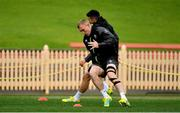 21 June 2018; Keith Earls during Ireland rugby squad training at North Sydney Oval in Sydney, Australia. Photo by Brendan Moran/Sportsfile