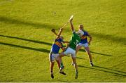 21 June 2018; Josh Adams of Limerick in action against David Gleeson of Tipperary during the Bord Gais Energy Munster Under 21 Hurling Championship Semi-Final match between Tipperary and Limerick at Semple Stadium in Thurles, Tipperary. Photo by Eóin Noonan/Sportsfile