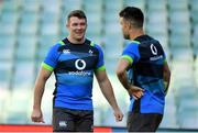 22 June 2018; Captain Peter O'Mahony, with Conor Murray during the Ireland rugby squad captain's run at Allianz Stadium in Sydney, Australia. Photo by Brendan Moran/Sportsfile