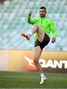 22 June 2018; Rob Kearney during the Ireland rugby squad captain's run at Allianz Stadium in Sydney, Australia. Photo by Brendan Moran/Sportsfile