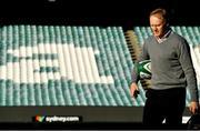 22 June 2018; Ireland head coach Joe Schmidt arrives for the Ireland rugby squad captain's run at Allianz Stadium in Sydney, Australia. Photo by Brendan Moran/Sportsfile