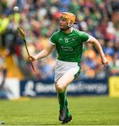17 June 2018; Seamus Flanagan of Limerick during the Munster GAA Hurling Senior Championship Round 5 match between Clare and Limerick at Cusack Park in Ennis, Clare. Photo by Ray McManus/Sportsfile