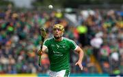 17 June 2018; Dan Morrissey of Limerick during the Munster GAA Hurling Senior Championship Round 5 match between Clare and Limerick at Cusack Park in Ennis, Clare. Photo by Ray McManus/Sportsfile