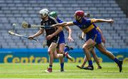 23 June 2018; Gerard O'Kelly-Lynch of Sligo in action against Nathan Unwin of Lancashire during the Lory Meagher Cup Final match between Lancashire and Sligo at Croke Park in Dublin. Photo by David Fitzgerald/Sportsfile