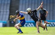 23 June 2018; Justin Cleere of Lancashire in action against Gerard O'Kelly-Lynch of Sligo during the Lory Meagher Cup Final match between Lancashire and Sligo at Croke Park in Dublin. Photo by David Fitzgerald/Sportsfile