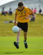 23 June 2018; Gearoid Mulvihill from Listowel Emmets GAA Club in Co. Kerry in action during the John West Skills Day in the National Sports Campus on Saturday 23rd June. The Skills Day is an opportunity for Ireland's rising football, hurling & camogie stars to show their skills as part of the John West Féile na nÓg and John West Féile na nGael competitions. At the National Sports Campus in Blanchardstown, Dublin. Photo by Seb Daly/Sportsfile