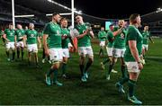 23 June 2018; Ireland players, including Tadhg Beirne, John Ryan and James Ryan celebrate with the Lansdowne Cup after the 2018 Mitsubishi Estate Ireland Series 3rd Test match between Australia and Ireland at Allianz Stadium in Sydney, Australia. Photo by Brendan Moran/Sportsfile