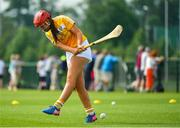 23 June 2018; Orlagh Convery from Geraldines Camogie Club, Portglenone in Co. Antrim in action during the John West Skills Day in the National Sports Campus on Saturday 23rd June. The Skills Day is an opportunity for Ireland's rising football, hurling & camogie stars to show their skills as part of the John West Féile na nÓg and John West Féile na nGael competitions. At the National Sports Campus in Blanchardstown, Dublin. Photo by Seb Daly/Sportsfile