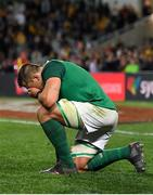 23 June 2018; CJ Stander of Ireland at the final whistle of the 2018 Mitsubishi Estate Ireland Series 3rd Test match between Australia and Ireland at Allianz Stadium in Sydney, Australia. Photo by Brendan Moran/Sportsfile