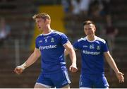 23 June 2018; Dessie Mone of Monaghan celebrates after scoring his side's fourth goal during the GAA Football All-Ireland Senior Championship Round 2 match between Waterford and Monaghan at Fraher Field in Dungarvan, Waterford. Photo by Daire Brennan/Sportsfile