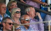 23 June 2018; Former Ard Stiúrthóir of the GAA Páraic Duffy with his wife Vera during the GAA Football All-Ireland Senior Championship Round 2 match between Waterford and Monaghan at Fraher Field in Dungarvan, Waterford. Photo by Daire Brennan/Sportsfile