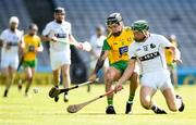 23 June 2018; Ciaran Mathewson of Donegal in action against Niall McKenna of Warwickshire during the Nicky Rackard Cup Final match between Donegal and Warwickshire at Croke Park in Dublin. Photo by David Fitzgerald/Sportsfile