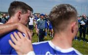 23 June 2018; Monaghan manager Malachy O'Rourke speaks to his players after the GAA Football All-Ireland Senior Championship Round 2 match between Waterford and Monaghan at Fraher Field in Dungarvan, Waterford. Photo by Daire Brennan/Sportsfile