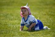 23 June 2018; Waterford supporter Fia White, aged 1, from Dungarvan, Co Waterford, after the GAA Football All-Ireland Senior Championship Round 2 match between Waterford and Monaghan at Fraher Field in Dungarvan, Waterford. Photo by Daire Brennan/Sportsfile