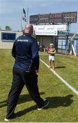 23 June 2018; Waterford manager Tom McGlinchey leaves the field after the GAA Football All-Ireland Senior Championship Round 2 match between Waterford and Monaghan at Fraher Field in Dungarvan, Waterford. Photo by Daire Brennan/Sportsfile