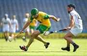 23 June 2018; Stephen Gillespie of Donegal in action against Niall Kennedy of Warwickshire during the Nicky Rackard Cup Final match between Donegal and Warwickshire at Croke Park in Dublin. Photo by David Fitzgerald/Sportsfile